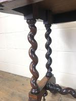 Victorian Rosewood Stretcher Table / Centre Table (8 of 15)