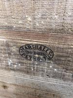Vintage Wooden Crate Box with Red Cross Logo (9 of 10)