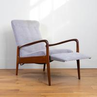 Greaves & Thomas Mid Century Teak Reclining Armchair - We Have 2 (4 of 16)