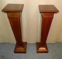 Pair of Mahogany Columns / Pedestals (2 of 6)