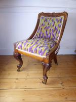 19thc Slipper Chair (7 of 7)
