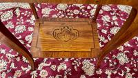 Pair of French Parquetry / Marquetry Side Tables (14 of 20)