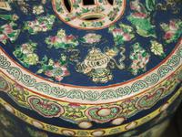 Pair of Chinese Qing Dynasty Painted Barrels / Seats (12 of 17)