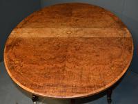 Burr Walnut Sutherland Table (4 of 11)