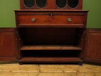 Antique George II Mahogany Secretaire Bookcase of Immense Character (4 of 16)