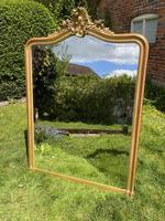 Large French Rococo Gilt Mirror (2 of 5)