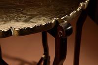 Elegant Chinese Harwood Folding Table c.1900 (4 of 10)