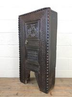 Unusual Antique Carved Side Cupboard (7 of 11)