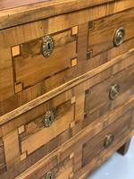 c18th Italian tulipwood and marquetry commode (8 of 11)