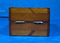 Victorian Inlaid Mahogany Crib  Box (3 of 20)