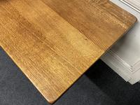 Solid Oak Refectory Dining Table (5 of 11)
