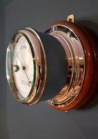 Superb Antique Bulkhead Marine Barometer (5 of 6)