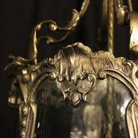 French Pair of Silver Gilded Bronze Lanterns (7 of 8)