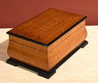 Early 20th Century Mahogany Dunhill Cigar Box (3 of 4)