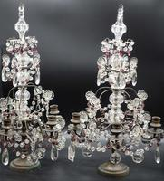 Complex Pair of Late 19th Century of French Table Candelabras (2 of 5)