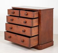 Victorian Mahogany Chest of Drawers (5 of 8)