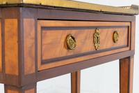 19th Century French Mahogany & Satinwood Console Table (8 of 9)