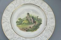 Good Staffordshire Pottery Painted Hand Painted Plate by Wilson c.1810 (3 of 6)