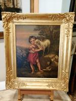 An interesting 19th Century oil on board (7 of 7)