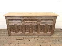 Pitch Pine Sideboard with Four Cupboards (10 of 10)
