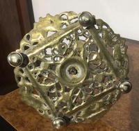 Pair Victorian Brass Candlesticks Townsend (4 of 5)