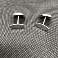 Danish Sterling Silver Cufflinks 1960s by Poul Warmind (4 of 4)