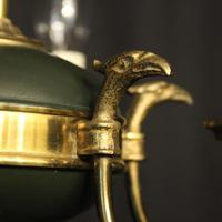 French Gilded Empire 6 Light Chandelier (7 of 8)