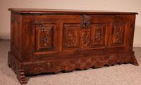 Spanish Chest From The 17th Century In Oak From The Kingdom Of Castille (6 of 10)