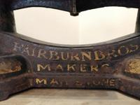 An interesting set of Fairburn Bros dairy scales (2 of 8)