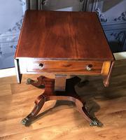 Regency Mahogany Sofa Table (4 of 9)