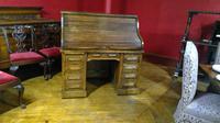 Oak Roll-top Desk (3 of 6)