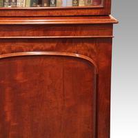 Victorian mahogany library bookcase (9 of 11)