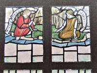 Florence Camm, Watercolour Stained Glass Window Design, Story of Undine c.1930 (3 of 5)