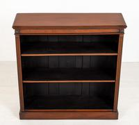 Good Quality Victorian Mahogany Open Bookcase (2 of 7)