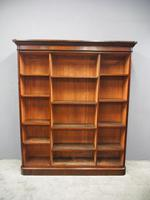 Victorian Mahogany Open Bookcase (2 of 11)