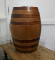 19th Century 20 Gallon Stoneware Whiskey Barrel (4 of 6)