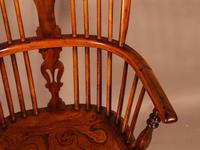 Good High Back Windsor Chair c.1840 (10 of 11)