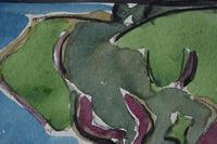 LoÏs Hutton Avant-Garde Art Deco Watercolour 1920 (2 of 8)
