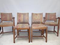 Six Heals Oak Chairs Labelled