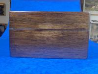 Victorian Rosewood Jewellery Box  With Inlay (6 of 15)