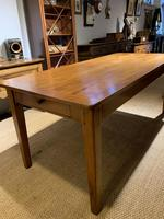 Farmhouse table cherry wood 71 inches long (7 of 11)