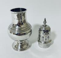 Antique Solid Sterling Silver Sugar Caster (8 of 11)
