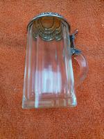Antique Hallmarked German 800 Silver & Glass Tankard C1890 Wilhelm Binder (7 of 12)
