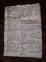 1440 A.D Medieval James ll of Scotland Period Vellum Document (11 of 13)