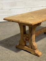 Great Rustic French Bleached Oak Coffee Table (8 of 25)