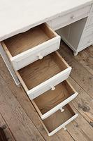 Fabulous! Old Pine / White Painted Desk / Dressing Table - We deliver! (10 of 11)