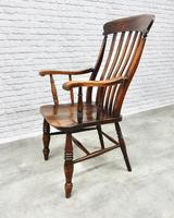 Large Grandfather Windsor Slatback Armchair (7 of 7)
