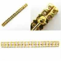 Stunning Vintage Diamond Double Row Bar Brooch 2.5 Carat ~ With Independent Appraisal / Valuation (10 of 11)