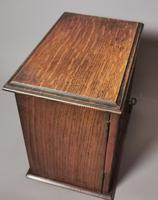 Antique Victorian Oak Smokers Cabinet, Arts & Crafts (6 of 14)