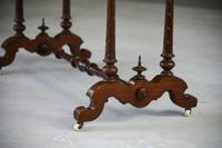 Antique Victorian Mahogany Side Table (4 of 13)